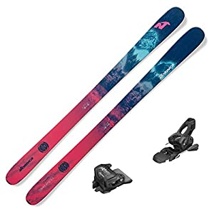 Nordica 2021 Santa Ana 93 Women's Skis w/Tyrolia Attack2 11 GW Bindings