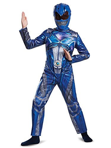 Disguise Ranger Movie Classic Costume, Blue, Small