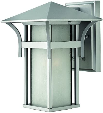 Hinkley 2570TT Transitional One Light Wall Mount from Harbor collection in Pwt, Nckl, B S, Slvr.finish,