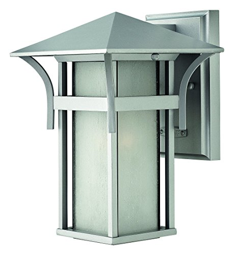 (Hinkley 2570TT Transitional One Light Wall Mount from Harbor collection in Pwt, Nckl, B/S, Slvr.finish,)