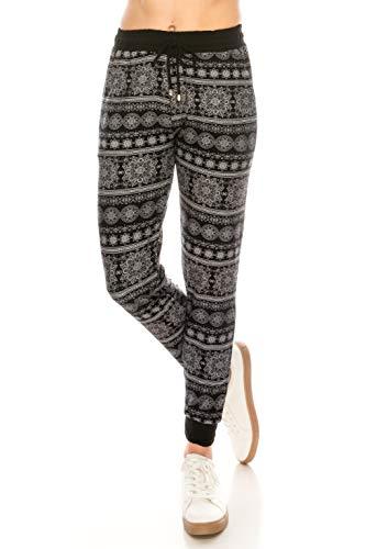 ALWAYS Women Drawstrings Jogger Sweatpants - Skinny Fit Premium Soft Stretch Pockets Track Pants Boho