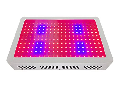 BloomGrow 600w LED Plant Grow Light with Full Spectrum for Indoor Greenhouse Hydroponic Plants Growing and Flowering