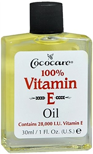 Cococare 100% Vitamin E Oil, 1 oz (Pack of 5)