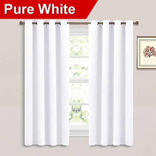 t Curtains for Bedroom - (Pure White Color) 52