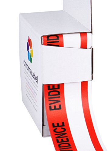 """1-3/8"""" x 480"""" Evidence Security Tape 