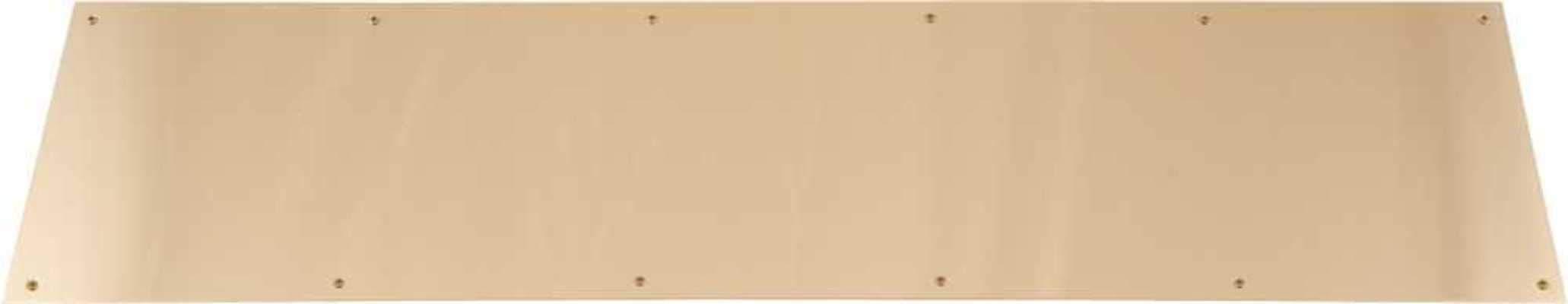 Don-Jo 6 X 36 605 KICK PLATE 6 IN. X 36 IN, SOLID BRASS