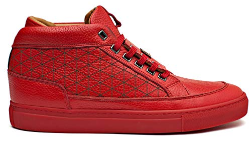 Shoes Rouge Melik Homme 12 Rouge 772 7206 Baskets 43 EU BFqBwxYSd