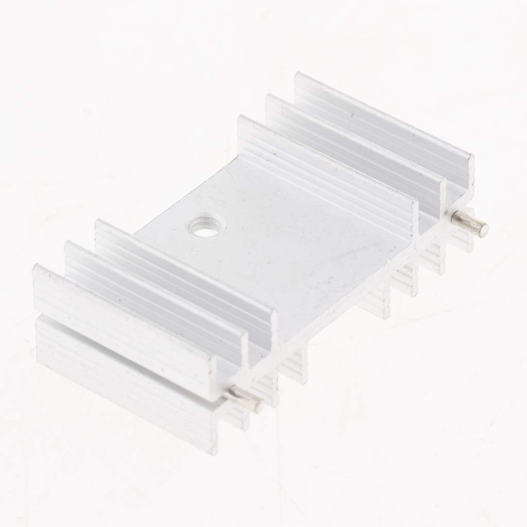 1pc Aluminum Cooling Fin Heat Sink for LED Memory Chip IC PCB 36x12x20mm