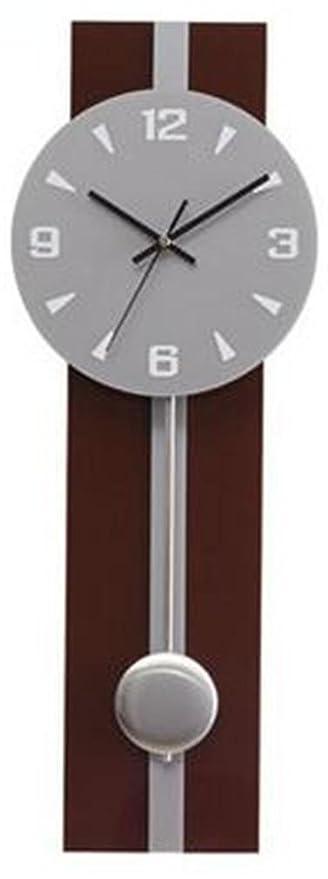 YANFEI Reloj De Pared Simplicidad De La Moda Acrílico Grandes Relojes De Péndulo Silencio No Tictac