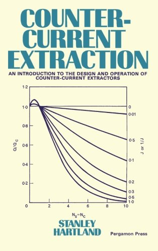 Counter Current Extraction An Introduction To The Design And Operation Of Counter Current Extractors Hartland Stanley 9781483128221 Amazon Com Books