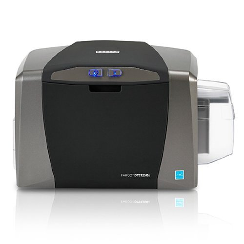 Fargo DTC1250e Single Sided ID Card Printer + Ethernet Connectivity (50020) - Fargo Id Systems