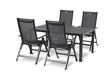 Hartman Tobago Gartenmöbel Set Gartenmöbel Sitzgruppe 5 Teilig
