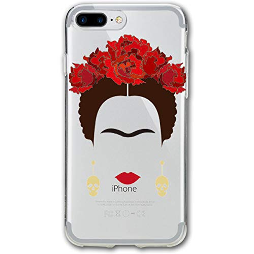 - iPhone 8 Plus Case, iPhone 7 Plus Case Frida-Kahlo-Logo Protective Anti-Scratch Shock Cover Damping Designed for Apple Case iPhone 7/8 Plus Case