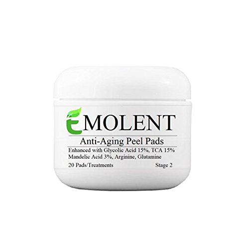 cheap EMOLENT, Anti-Aging Peel Pads Enhanced with Glycolic
