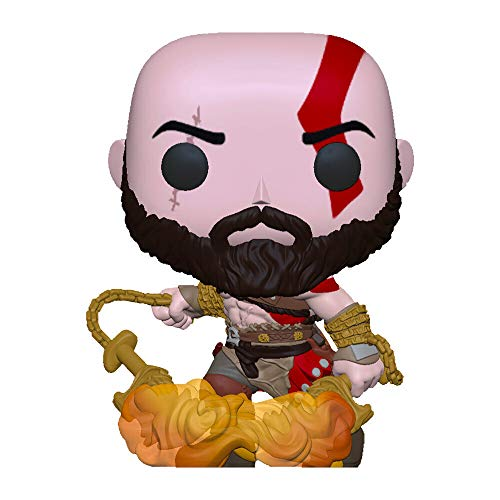 POP Funko Playstation 154 Kratos with The Blades of Chaos Glows in The Dark (no gamest