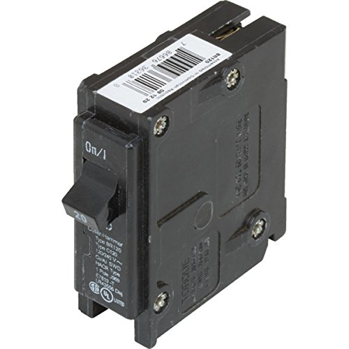918502 Cutler-Hammer 20 Amp Single Pole Circuit Breaker - HACR Rated - Type BR-SET OF 2