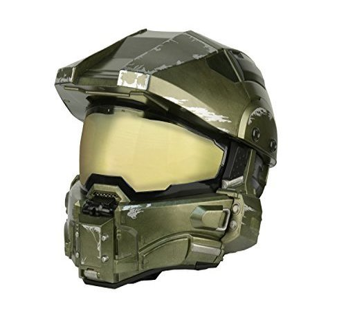 Halo Réplica Casco Master Chief Modular Motorcycle Helmet talla L: Amazon.es: Hogar