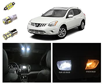 Nissan Rogue LED Package Interior + Tag + Reverse Lights (8 pieces)  sc 1 st  Amazon.com & Amazon.com: Nissan Rogue LED Package Interior + Tag + Reverse ... azcodes.com