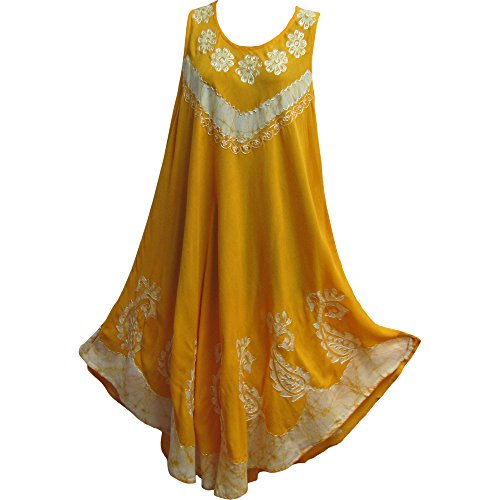 Cotton Batik Caftan Dress - 6