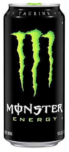 Monster Energy Drink, 16 onces (Pack de 24)