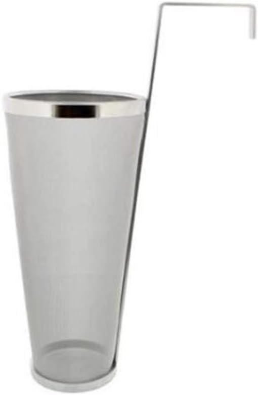 XLY Filtro Brew Tolva, Malla De Araña Colador Inoxidable Micras De Acero Lúpulo Té Cerveza Homebrew Tubo De Llenado Caldera De Cocción Filtro De La Tolva Filtro Hogar Café Hecho En Casa,1