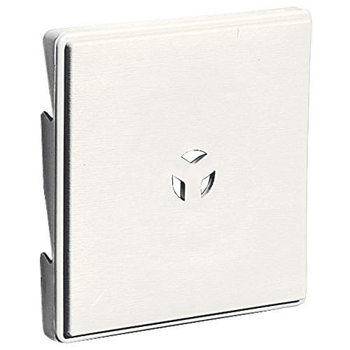 Builders Edge 130110007123 Surface Block, White