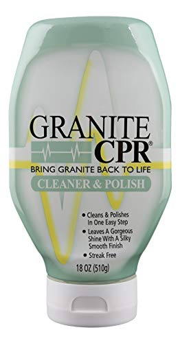CPR Granite 18oz Bottle - 2-in-1 Cleaner & Polish is Gentle Enough for Daily Use & Tough Enough to Restore Granite, Marble, Stone to Its Original Luster (Blanco Sink Cleaner)