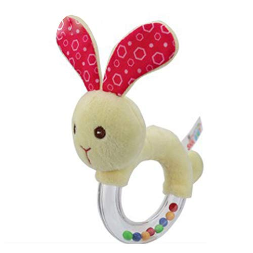 Yonger Soft Toy Cute Rattle Animal Rabbit Doll Children Doll Plush Shake Bell Gift Toy