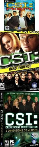 Crime Scene Investigation 3 Pack: CSI Las Vegas & Miami