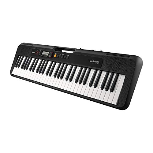 Casio Tone CTS200 Piano Black - (Includes Casio AC Adaptor ADE95100)