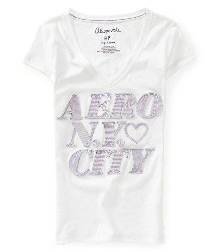 y City V-neck Embellished T-Shirt 102 XL ()