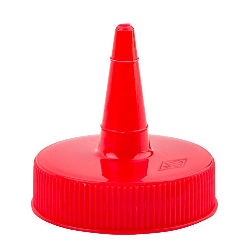 (TableCraft 100TK Replacement Top for Red Squeeze Dispenser - 12 / PK)