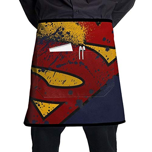 Duwamesva Waist Apron- Super Hero Restaurant Coffee Shop