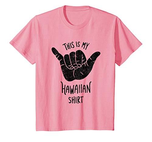 Luau / Tiki Party T-shirt - This Is My Hawaiian Shirt