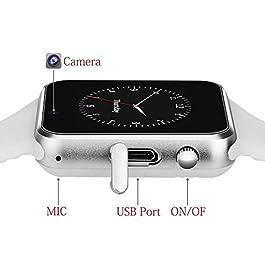 321OU Bluetooth Smart Watch Fitness Tracker (White)
