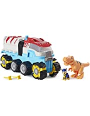 PAW Patrol, Dino Rescue Dino Patroller gemotoriseerd teamvoertuig met exclusieve Chase- en T. Rex-figuren
