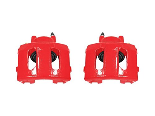Power Stop S4339 Red Powder-Coated Performance Caliper by POWERSTOP