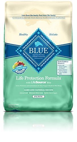BLUE Life Protection Formula Puppy Lamb and Oatmeal  Dry Dog Food 30-lb