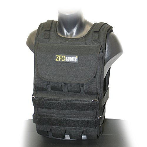 ZFOsports Adjustable Weighted Vest, 60 lb by ZFOsports