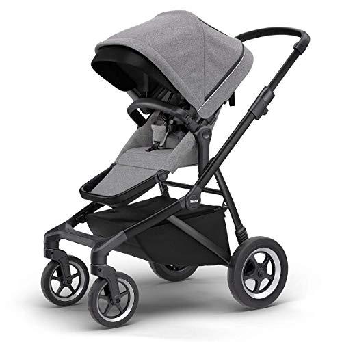 Thule Sleek Stroller – Grey Melange/Black – 11000021