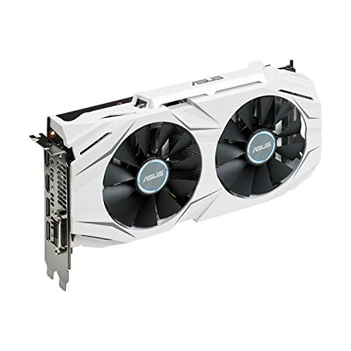 Asus DUAL-GTX1060-3G GeForce grafische kaart, 3 GB wit
