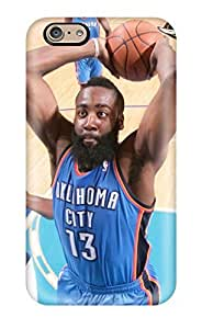 Fashion Protective Oklahoma City Thunder Basketball Nba Case Cover For Iphone 6