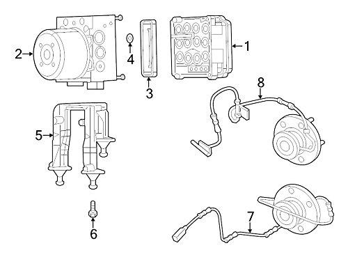 MOPAR 68266996AA - Module Anti Lock Brake System