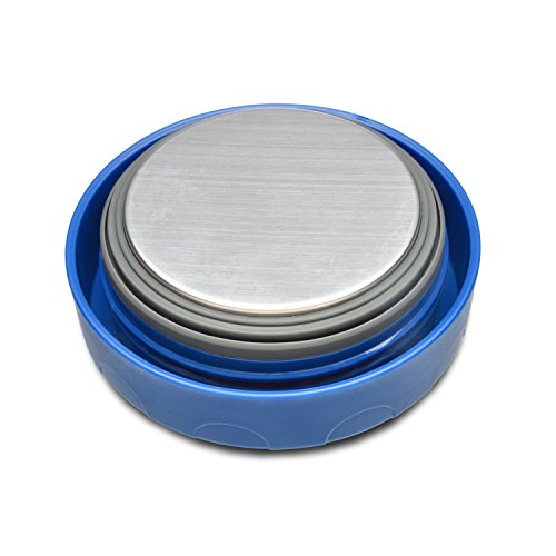 LunchBots Wide Thermal 16 oz. All Stainless Steel Bowl - Insulated Food Container Stays Hot 6 Hours or Cold for 12 Hours - Leak Proof Soup Jar for Portable Convenience - Blue by LunchBots (Image #4)