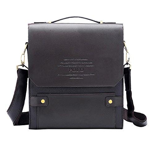 e Messenger regolabile marrone Bag con orizzontale spalla manico grande Cintura Missfox per verticale Messenger q0xdtd