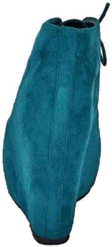 Breckelles Jenny-13 Groene Dames Enkellaarzen, 8 M Us