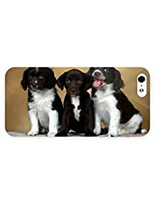 3d Full Wrap Case for iPhone 5/5s Animal Dogs