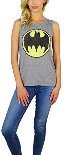 Batman+Shirts Products : DC Comics Womens Justice League Sleeveless Tank Top