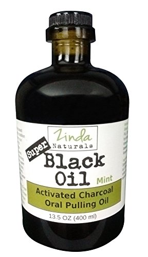 Mouthwash activated charcoal xylitol Sweet Naturals
