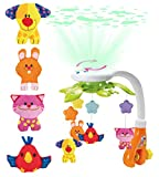 KiddoLab Baby Crib Mobile with Lights and